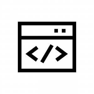 Custom Software Development: Code Image