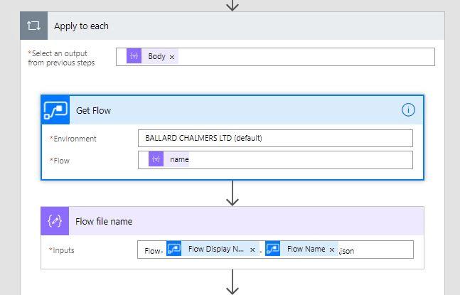 Image 6 Backing up Your Flows to Visual Studio or Github
