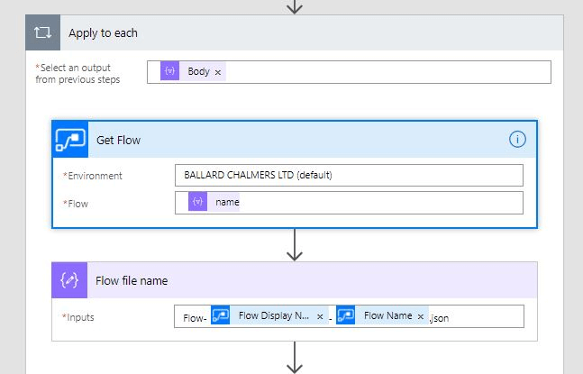 Image 6 Backing up Your Flows to Visual Studio or Github