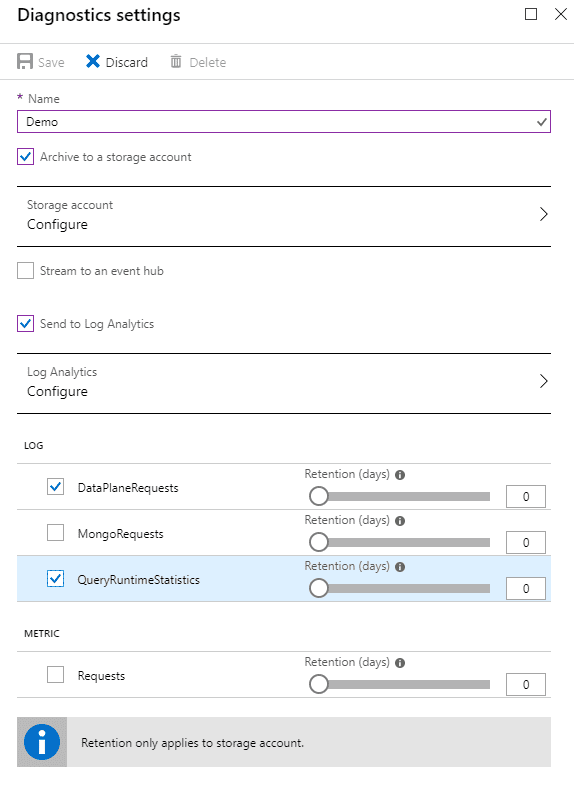 Diagnosing Azure Cosmos DB