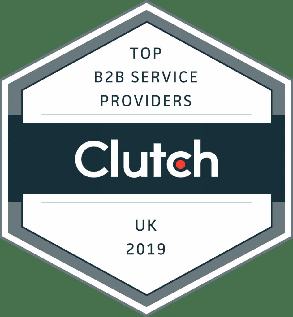 Clutch Top B2B Service Providers 2019