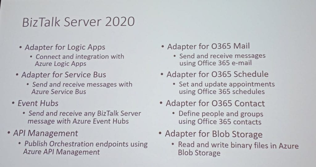 BizTalk Server 2020 - Slide 2