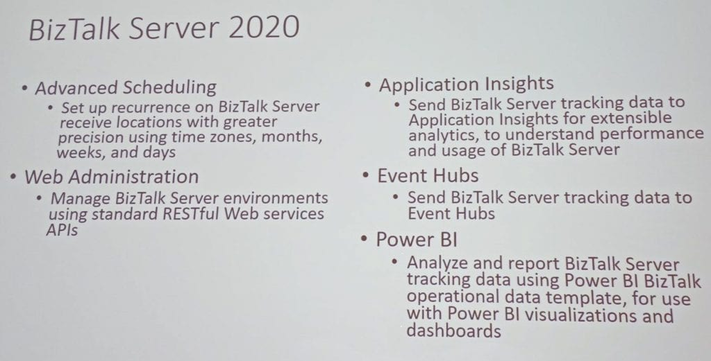 BizTalk Server 2020 - Slide 1