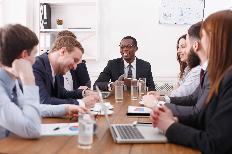 Business leaders creating initiative