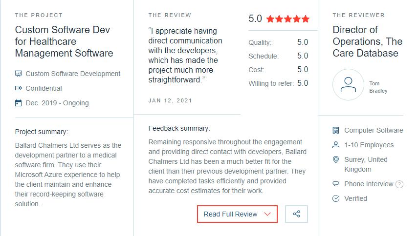 CareDB Review